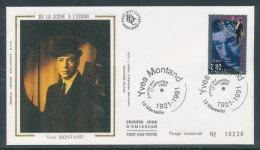 1994 Env 1er Jour Yves Montant - Marseille - FDC