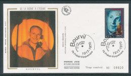 1994 Env 1er Jour Bourvil - Prétot-Vicquemare - FDC