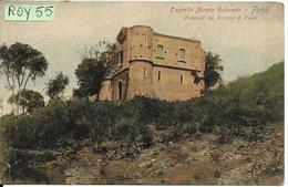 Lazio-latina-fondi  Veduta Castello Monte Rotondo Primi 900 - Autres Villes