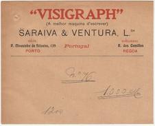 Cover :: ''Visigraph'' Maquina De Escrever :: Saraiva & Ventura, Lda. :: Porto :: Holed - Publicités