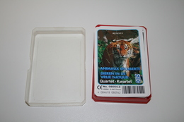 Speelkaarten - Kwartet, Dieren In De Vrije Natuur, Hemma Nr.08054.2, *** - - Cartes à Jouer Classiques
