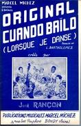 COLLECTION MUSIQUE - PARTITION ACCORDEON 2 BAIOS - Original CUANDO BAILO (lorsque Je Danse) RANCON José - Non Classés