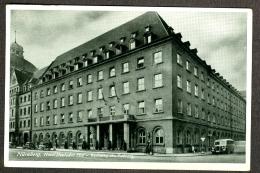 Allemagne Deutschland Nuremberg Nürnberg Hotel Deutscher Hof Wohnung Des Führers 1940 - Nürnberg