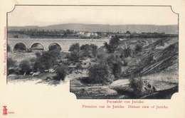 Fernsicht Von JERICHO (Jordanien), Karte Vor 1900 - Jordan