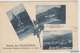 SALUTI DA CALIZZANO-SAVONA-MULTIVEDUTE-COLLE SCRAVAJON-CASA CANTONIERA E MONTE LINGO-VG 7/7/1936--2 SCAN- - Savona