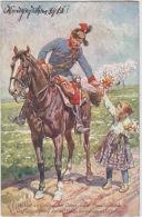 AK - Patriotika - Pfingstgrüsse - Unterstützung Der Kriegsinvaliden  1915 - Guerre 1914-18