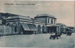 ITALIA CIVITAVECCHIA Stazione Ferrovie Della Stato - Civitavecchia