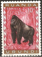 Ruanda Urundi - 1959 - Gorille - YT 205 Neuf Sans Charnière - MNH