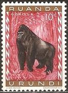 Ruanda Urundi - 1959 - Gorille - YT 205 Neuf Sans Gomme - Ruanda-Urundi