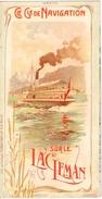 Cie Gale De Navigation Sur Le Léman (dépliant Publicitaire Format 10cm X 19.5cm) - GE Genève