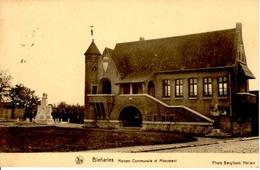 Bleharies (Brunehaut). Maison Communale Et Monument. - Bernissart