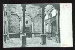 SIENA - INIZI 900 - CASA DI S. CATERINA IL CHIOSTRO -  ED. STENGEL - DRESDA - Siena