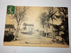 03 LOUROUX BOURBONNAIS : Place De La Mairie, Animé, En 1912, Plan RARE - Altri Comuni