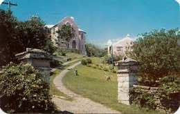 BERMUDA - Entrance T MIZZENTOP, Gel.1959, Abgelöste Marke - Bermuda