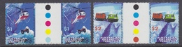 AAT 1998 Transport 2v  Gutter ** Mnh (34180) - Australian Antarctic Territory (AAT)