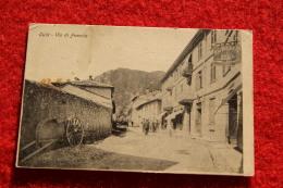Oulx Via Di Francia Con Il Ristorante Roma Primi 1900 Torino - Andere Steden