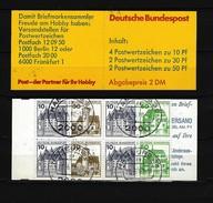 BUNDESREPUBLIK DEUTSCHLAND MH Mi-Nr. 22 B OZ Gestempelt (1) - [7] République Fédérale