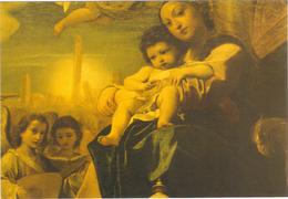 It. Bologna.Madonna Dei Bargellini (partic.) Pinacoteca.Lodovico Carracci (1555- 1619) - Vierge Marie & Madones