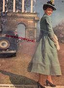 REVUE ELLE- N° 126 -20 AVRIL 1948-PARIS CHAMPS ELYSEES-LA ROBE COUP DE FOUDRE-PARAPLUIE- FEMME PRESSEE - Books, Magazines, Comics