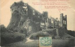 63 MUROL RUINES CHATEAU - France
