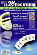 """ITALIA - Rivista """"Il Mercatino Del Collezionista"""" - Golden - 2012 - N. 142 - Telefonkarten"""