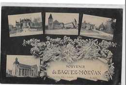 BAGUER MORVAN  SOUVENIR  4 VUES - France