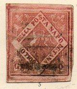 ITALIE (Anciens états) - 1858 - NAPLES (Royaume) - N° 6 - 20 G. Rose - Naples