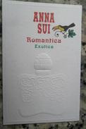 Anna Sui Romantica Exotica - Cartes Parfumées