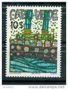 CAPE VERDE MICHEL III MNH** PAINTINGS HUNDERTWASSER ART RARISSIME - Kap Verde