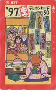 Télécarte Japon / NTT 231-195 - ZODIAQUE BUFFLE 1997 - BUFFALO HOROSCOPE Japan Phonecard - BÜFFEL