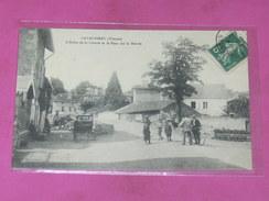 LAVAUSSEAU    / ARDT  POITIERS  1905  ARBRE DE LA LIBERTE ET LE PONT    EDIT    CIRC  OUI - Other Municipalities