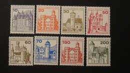 Germany - Berlin - 1977 - Mi.532-4A,536-40A**MNH - Look Scan - Unused Stamps