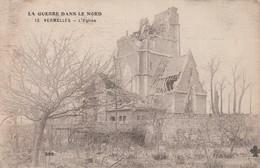 62 - VERMELLES - L'EGLISE - GUERRE 1914-1918 - 14-18 - PREMIERE GUERRE MONDIALE - France