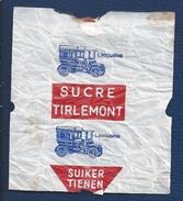 Suikerwikkel. Emballage De Sucre. SUCRU TIRLEMONT. SUIKER TIENEN. LIMOUSINE. Sugar. Suiker. Zucker. 2 Scans - Sugars