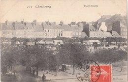 CHERBOURG  ( 50 ) La Place Divette  ( 3 Cartes  )   ( Port Gratuit ) - Cherbourg