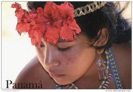 Lote PEP898, Panama, Postal, Postcard, Embera, Indigenous Women, Mujer Indigena - Panamá