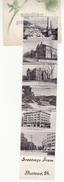 GREETINGS FROM RUTLAND VT - C1910s FOLDING MULTIVIEW NOVELTY Vintage Postcard - 6 Views [6575] - Rutland