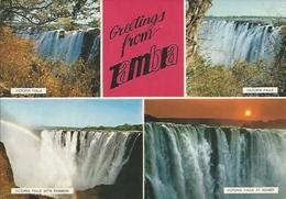 Postcard RA008650 - Zambia Victoria Falls (Mosi-oa-Tunya) - Zambia