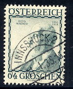 AUSTRIA 1934 Architects 64+64 Gr. Used.  Michel 596 - 1918-1945 1st Republic