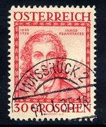 AUSTRIA 1934 Architects 30+30 Gr. Used.  Michel 593 - 1918-1945 1st Republic