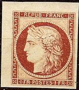 SUPERBE  CERES N°6a 1F Carmin Clair De SPIRO NEUF Avec GOMME** LUXE 1er Choix - 1849-1850 Ceres