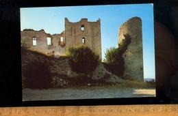 GREOUX LES BAINS Alpes De Haute Provence 04 : Un Coin Du Chateau Des Templiers - Gréoux-les-Bains