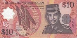 BILLETE DE BRUNEI DE 10 RINGGIT DEL AÑO 1998 SIN CIRCULAR-UNCIRCULATED  (BANKNOTE) POLIMERO - Brunei