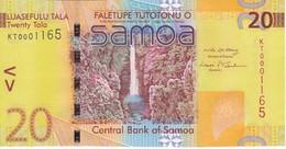 BILLETE DE SAMOA DE 20 TALA DEL AÑO 2008 (BANK NOTE) SIN CIRCULAR-UNCIRCULATED (PAJARO-BIRD) - Samoa