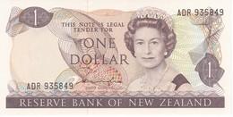 BILLETE DE NUEVA ZELANDA DE 1 DOLLAR DEL AÑO 1981-85 (BIRD-PAJARO) (BANKNOTE) SIN CIRCULAR-UNCIRCULATED - Nueva Zelandía