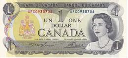 BILLETE DE CANADA DE 1 DOLLAR DEL AÑO 1973  (BANKNOTE) SIN CIRCULAR-UNCIRCULATED - Canada