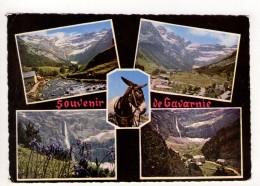 CP 10*15-RIS552-SOUVENIR DE GAVARNIE MULTIVUES 1965 - Gavarnie