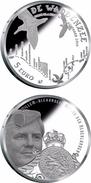 "HOLANDA HOLAND THE NEDERLANDS  5€  Plata/Silver 2.016 2016 ""HET WADDEN VIJFJE"" T-DL-11.968 - Paises Bajos"