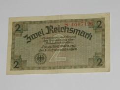 2 Reichsmark  - Germany - Allemagne  **** EN ACHAT IMMEDIAT **** - [ 4] 1933-1945 : Third Reich