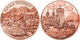 "AUSTRIA  10€  COBRE /COPPER 2.016 2016 ""ESTADO DE ALTA AUSTRIA"" SC/UNC  T-DL-11.969 - Autriche"